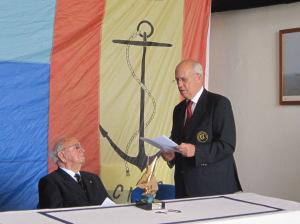 Francisco Quiroga, elegido por unanimidad Gran Maestre de la Cofradía Europea de la Vela en su Asamblea General reunida en noviembre