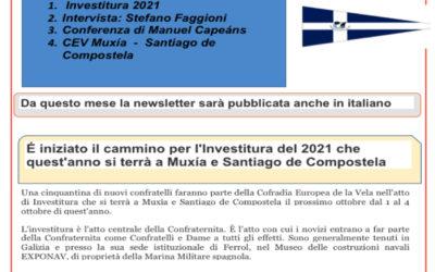 Nueva edición en italiano del Boletin Informativo num 8 Junio de la CEV